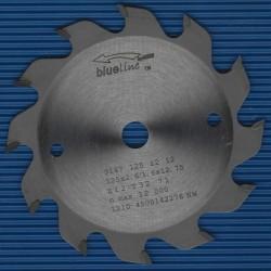 blueline by AKE Handkreissägeblatt HW Wechselzahn grob – Ø 125 mm, Bohrung 12,7 mm (1/2'')