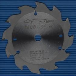 blueline by AKE Handkreissägeblatt HW Wechselzahn grob – Ø 140 mm, Bohrung 12,7 mm (1/2'')