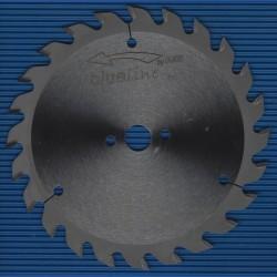 blueline by AKE Handkreissägeblatt HW Wechselzahn mittel – Ø 160 mm, Bohrung 16 mm