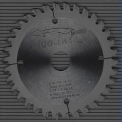 blueline by AKE Aluminium-Kreissägeblatt HW negativ sehr fein – Ø 120 mm, Bohrung 20 mm