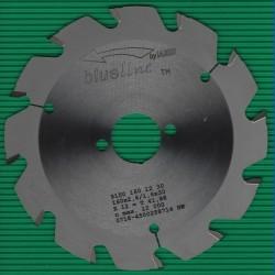 blueline by AKE Baukreissägeblatt HW Trapezzahn grob – Ø 160 mm, Bohrung 30 mm