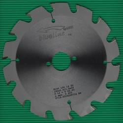 blueline by AKE Baukreissägeblatt HW Trapezzahn grob – Ø 190 mm, Bohrung 30 mm