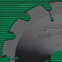 blueline by AKE Baukreissägeblatt HW Trapezzahn grob – Ø 235 mm, Bohrung 30 mm