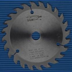 blueline by AKE Handkreissägeblatt HW Wechselzahn fein – Ø 130 mm, Bohrung 16 mm