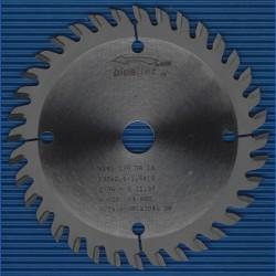 blueline by AKE Handkreissägeblatt HW Wechselzahn sehr fein – Ø 130 mm, Bohrung 16 mm