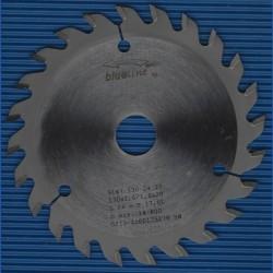 blueline by AKE Handkreissägeblatt HW Wechselzahn fein – Ø 130 mm, Bohrung 20 mm