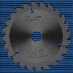 blueline by AKE Handkreissägeblatt HW Wechselzahn fein extra dünn für Akkusägen von Makita – Ø 136 mm, Bohrung 20 mm