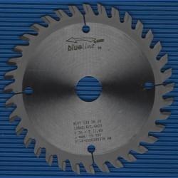 blueline by AKE Handkreissägeblatt HW Wechselzahn sehr fein – Ø 134 mm, Bohrung 20 mm