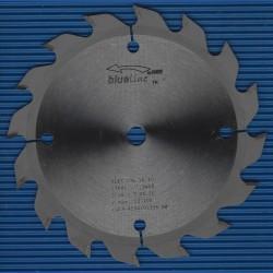 blueline by AKE Handkreissägeblatt HW Wechselzahn grob extra dünn für Akkusägen von Makita – Ø 136 mm, Bohrung 10 mm