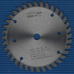 blueline by AKE Handkreissägeblatt HW Wechselzahn sehr fein – Ø 140 mm, Bohrung 12,7 mm (1/2'')