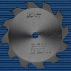 blueline by AKE Handkreissägeblatt HW Wechselzahn grob – Ø 140 mm, Bohrung 13 mm