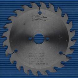 blueline by AKE Handkreissägeblatt HW Wechselzahn mittel – Ø 140 mm, Bohrung 20 mm