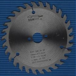 blueline by AKE Handkreissägeblatt HW Wechselzahn fein – Ø 140 mm, Bohrung 20 mm