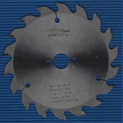 blueline by AKE Handkreissägeblatt HW Wechselzahn grob – Ø 150 mm, Bohrung 20 mm