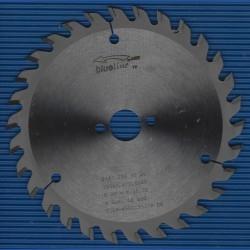 blueline by AKE Handkreissägeblatt HW Wechselzahn fein – Ø 150 mm, Bohrung 20 mm
