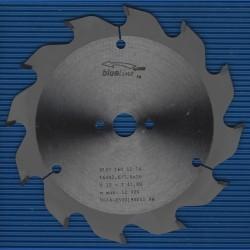 blueline by AKE Handkreissägeblatt HW Wechselzahn grob – Ø 160 mm, Bohrung 16 mm