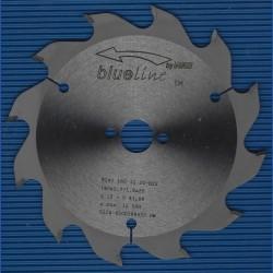 blueline by AKE Handkreissägeblatt HW Wechselzahn grob schmal für Sägen von Festool – Ø 160 mm, Bohrung 20 mm