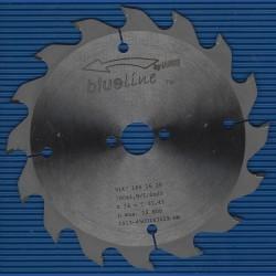blueline by AKE Handkreissägeblatt HW Wechselzahn grob dünn für Akkusägen von Mafell – Ø 160 mm, Bohrung 20 mm