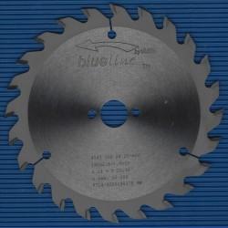 blueline by AKE Handkreissägeblatt HW Wechselzahn mittel – Ø 160 mm, Bohrung 20 mm