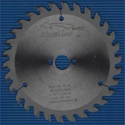 blueline by AKE Handkreissägeblatt HW Wechselzahn mittelfein – Ø 160 mm, Bohrung 20 mm