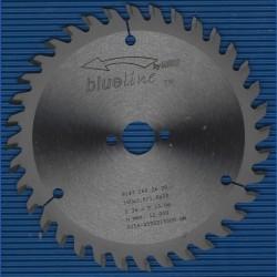 blueline by AKE Handkreissägeblatt HW Wechselzahn fein – Ø 160 mm, Bohrung 20 mm