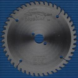 blueline by AKE Handkreissägeblatt HW Flach- / Trapezzahn sehr fein dünn für Sägen von Festool – Ø 160 mm, Bohrung 20 mm