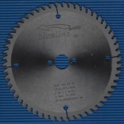 blueline by AKE Handkreissägeblatt HW Flach- / Trapezzahn extra fein dünn für Sägen von Mafell – Ø 160 mm, Bohrung 20 mm