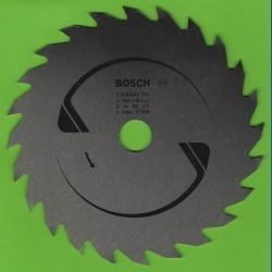 BOSCH Chrom-Vanadium-Sägeblatt für Kreissägen grob – Ø 130 mm, Bohrung 16 mm