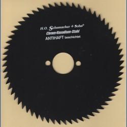 H.O. Schumacher+Sohn Kreissägeblatt Chrom-Vanadium B Feinzahn antihaftbeschichtet – Ø 170 mm, Bohrung 30 mm