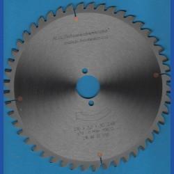 H.O. Schumacher+Sohn Hartmetallbestücktes Kreissägeblatt NE-negativ fein – Ø 216 mm, Bohrung 30 mm
