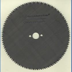 H.O. Schumacher+Sohn Kreissägeblatt Chrom-Vanadium C Feinstzahn – Ø 132 mm, Bohrung 13 mm