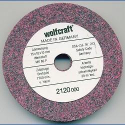 wolfcraft Mischkorund-Schleifstein grob