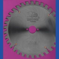 toolboss Hartmetallbestücktes Kreissägeblatt VARIOfix – Ø 230 mm, Bohrung 30 mm