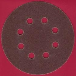 Kaindl Haft-Schleifscheiben KO – Ø 125 mm 8-fach gelocht, K60 grob