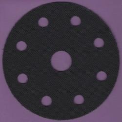 rictools Soft-Pad für Stützteller mit Klett – Ø 125 mm 9-fach gelocht innen