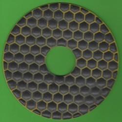 rictools Haft-Diamant-Schleifpad trocken Ø 125 mm – K200 fein