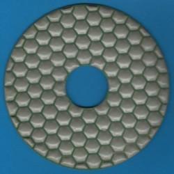 rictools Haft-Diamant-Schleifpad trocken Ø 125 mm – K800 superfein