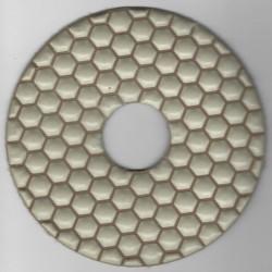 rictools Haft-Diamant-Schleifpad trocken Ø 125 mm – K3000 polierfein