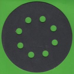 KLINGSPOR Haft-Schleifscheiben SC – Ø 125 mm 8-fach gelocht, K220 fein