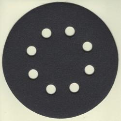 KLINGSPOR Haft-Schleifscheiben SC – Ø 125 mm 8-fach gelocht, K180 mittelfein
