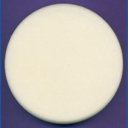 rictools Haft-Polierschwamm Profi glatt hart Ø 150 mm – auch für Ø 125 mm