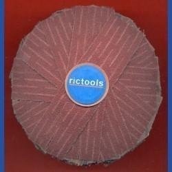 rictools Schleifstern, Ø 100 mm, K80 grob