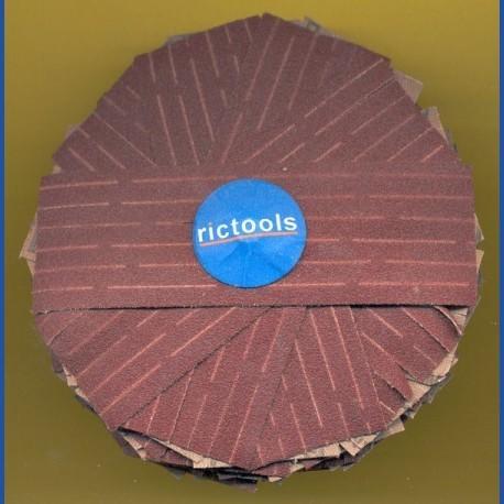 rictools Schleifstern, Ø 100 mm, K120 mittelgrob