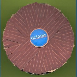 rictools Schleifstern, Ø 100 mm, K320 sehr fein