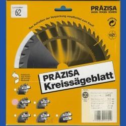 PRÄZISA Jännsch Hartmetall-Kreissägeblatt Type W Wechselzahn mittel – Ø 160 mm, Bohrung 25 mm