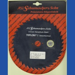 H.O. Schumacher+Sohn Kreissägeblatt Chrom-Vanadium A Grobzahn antihaftbeschichtet – Ø 170 mm, Bohrung 20 mm