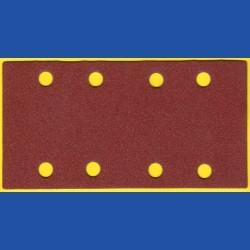 KLINGSPOR Haft-Schleifblätter KO – 93 x 180 mm 8-fach gelocht, K120 mittelgrob