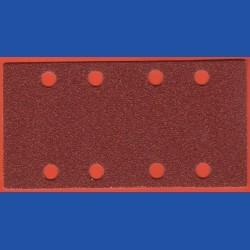 KLINGSPOR Haft-Schleifblätter KO – 93 x 180 mm 8-fach gelocht, K80 grob