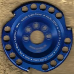 Kaindl Super-Carver hartmetallbestückter Scheibenfräser für Winkelschleifer – Ø 115 mm