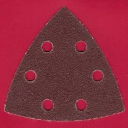 Kaindl Delta-Schleifscheiben KO – 93 mm 6-fach gelocht, K60 grob